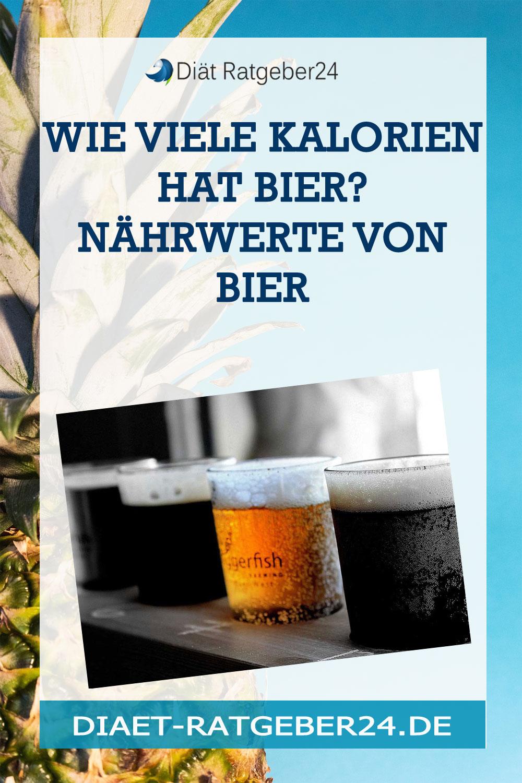 Wie viele Kalorien hat Bier? Nährwerte von Bier