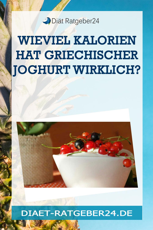 Wieviel Kalorien hat griechischer Joghurt wirklich?