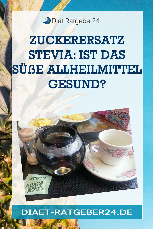 Zuckerersatz Stevia: Ist das süße Allheilmittel gesund?