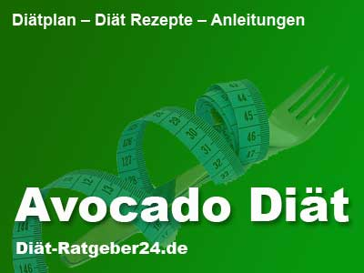 Avocado Diät