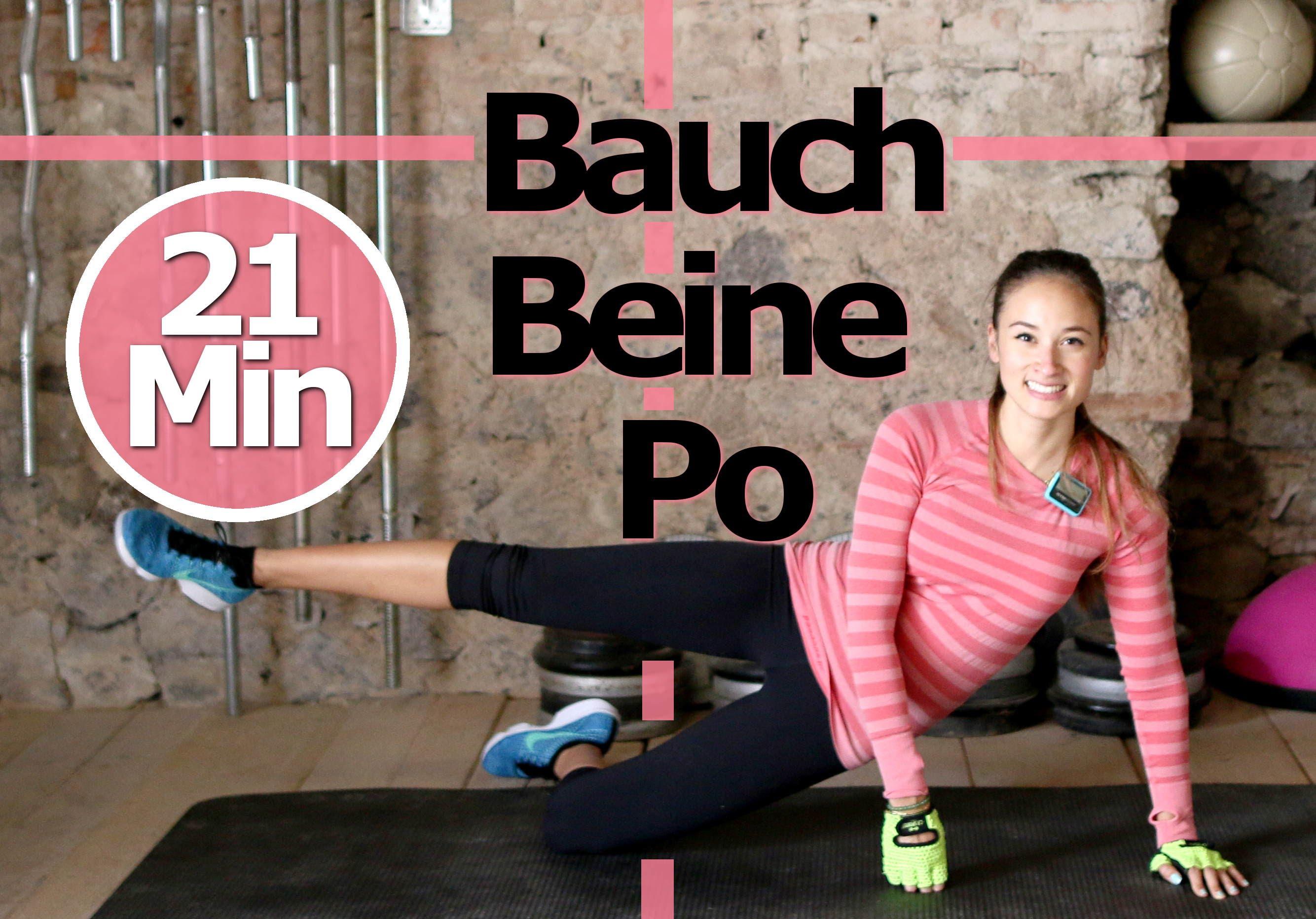 Bauch Beine Po Übungen für zuhause