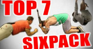 Bauchmuskeltraining Übungen - Top 4 Sixpack Workout's