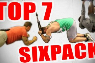 Bauchmuskeltraining Übungen - Top 4 Sixpack Workout's