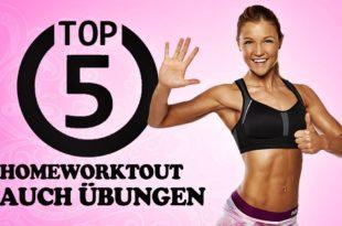 Bauchübungen - Die Top5 gegen Bauchspeck