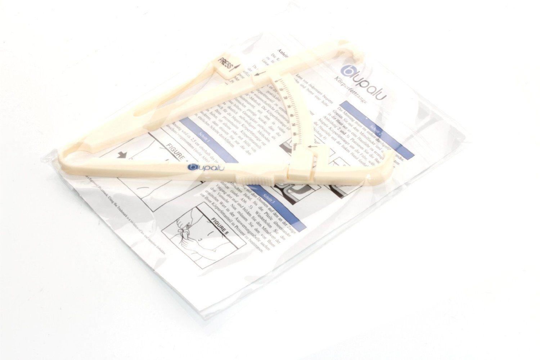Erfolge messen - Caliper Körperfettzange Test