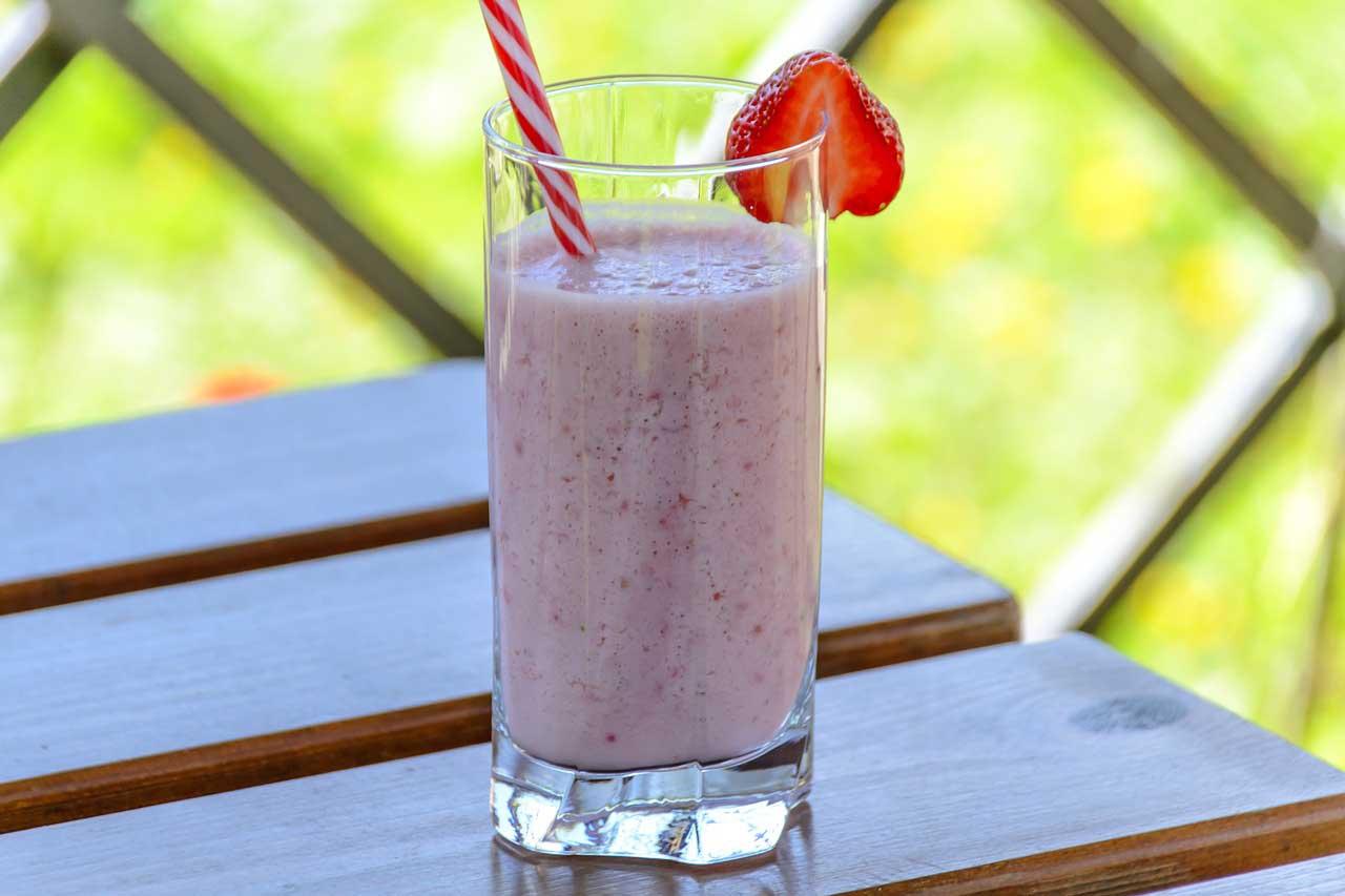Diät Drink selber machen - garantiert gesunde Zutaten.