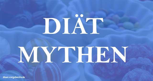 Diät Mythen Ratgeber