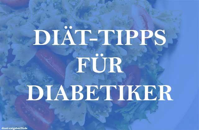 Diät Tipps für Diabetiker Ratgeber