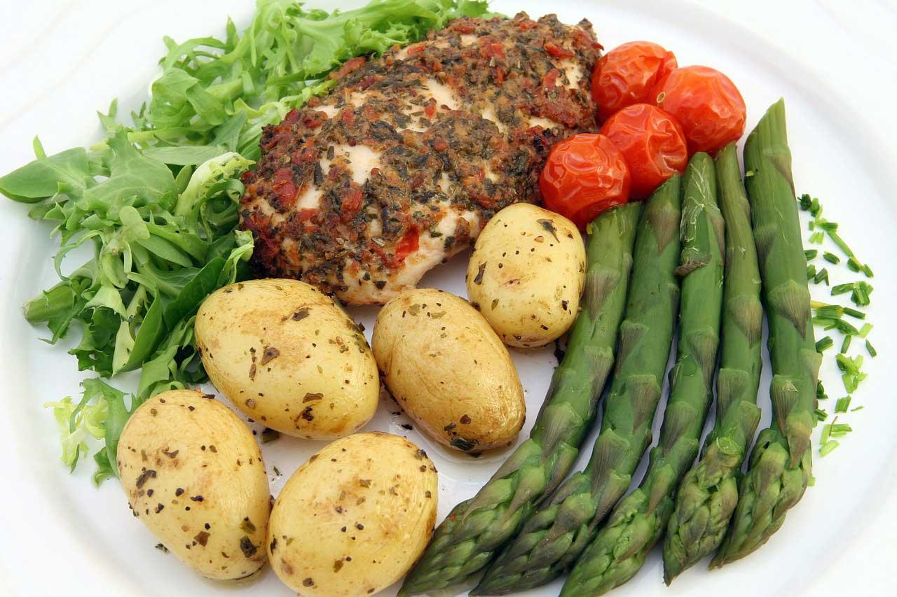 Diät und Muskelaufbau