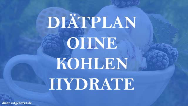 Diätplan ohne Kohlenhydrate Ratgeber