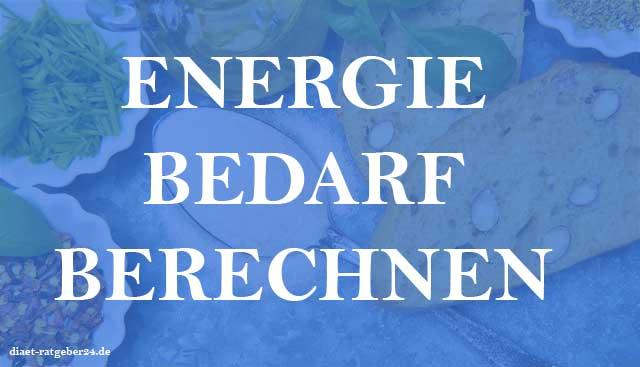 Energiebedarf berechnen Ratgeber