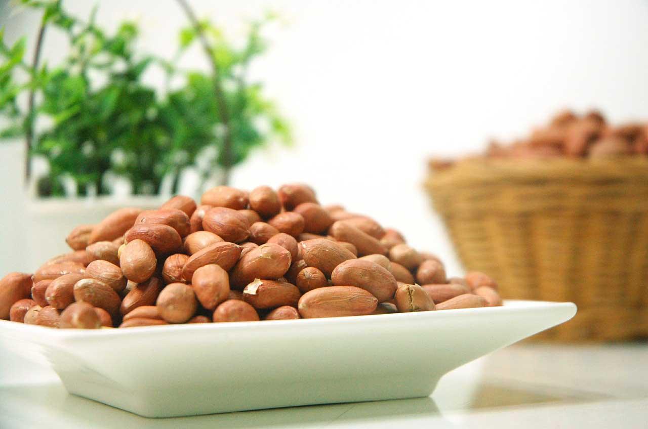 Wie hoch sind die Erdnüsse Kalorien?