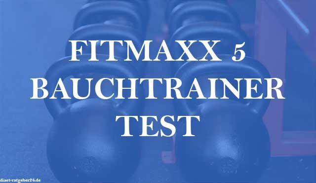 Fitmaxx 5 Bauchtrainer Test im Ratgeber
