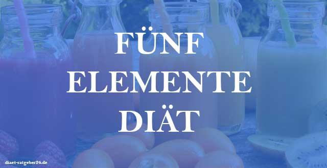 Fünf Elemente Diät Ratgeber