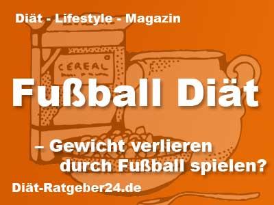 Fußball Diät - Gewicht verlieren nur durch Fußball spielen?