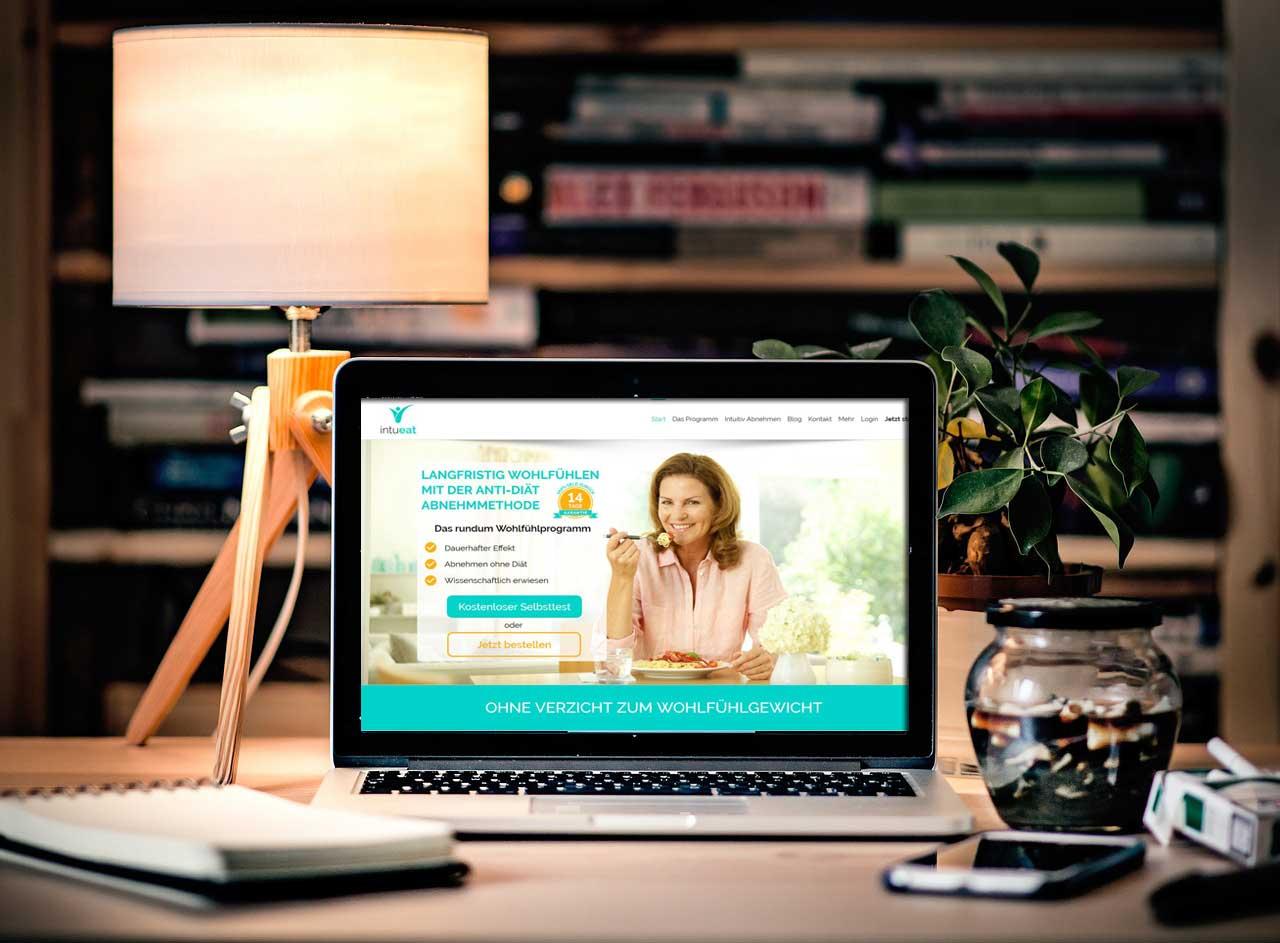 Mit Intueat Diät online planen für den Abnehmerfolg
