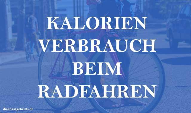 Kalorienverbrauch beim Radfahren Ratgeber