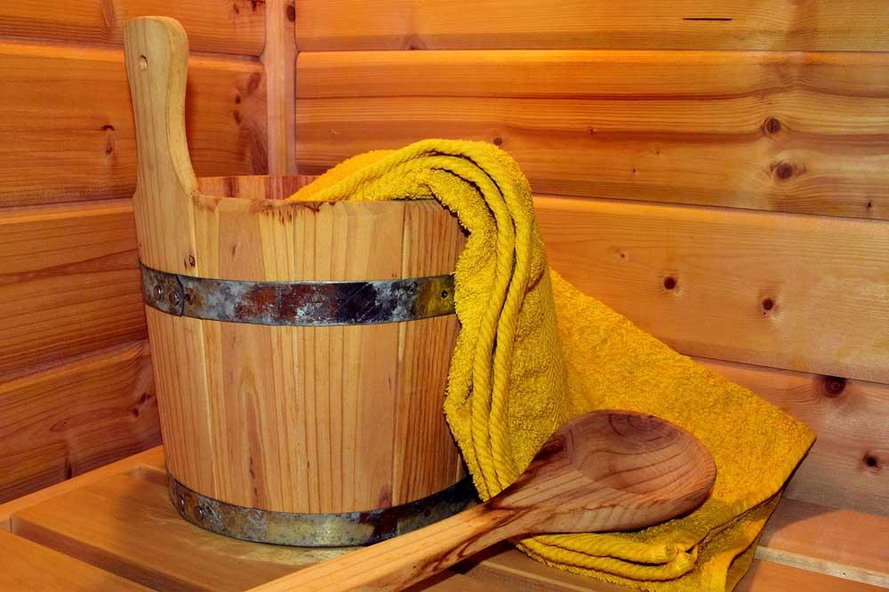 Kalorienverbrauch in der Sauna