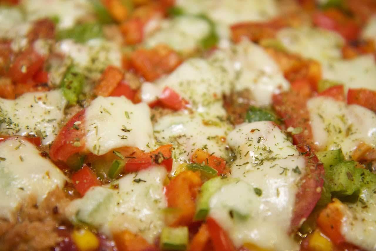 Beispiel für ein Low Carb Hauptgericht: Mozarella Auflauf