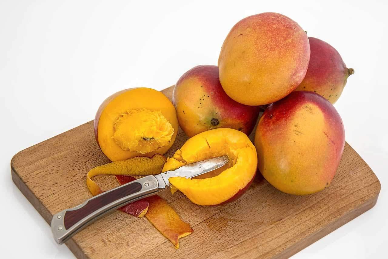 Afrikanische Mango verlieren schnell Gewicht