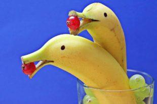 Mit Bananen abnehmen