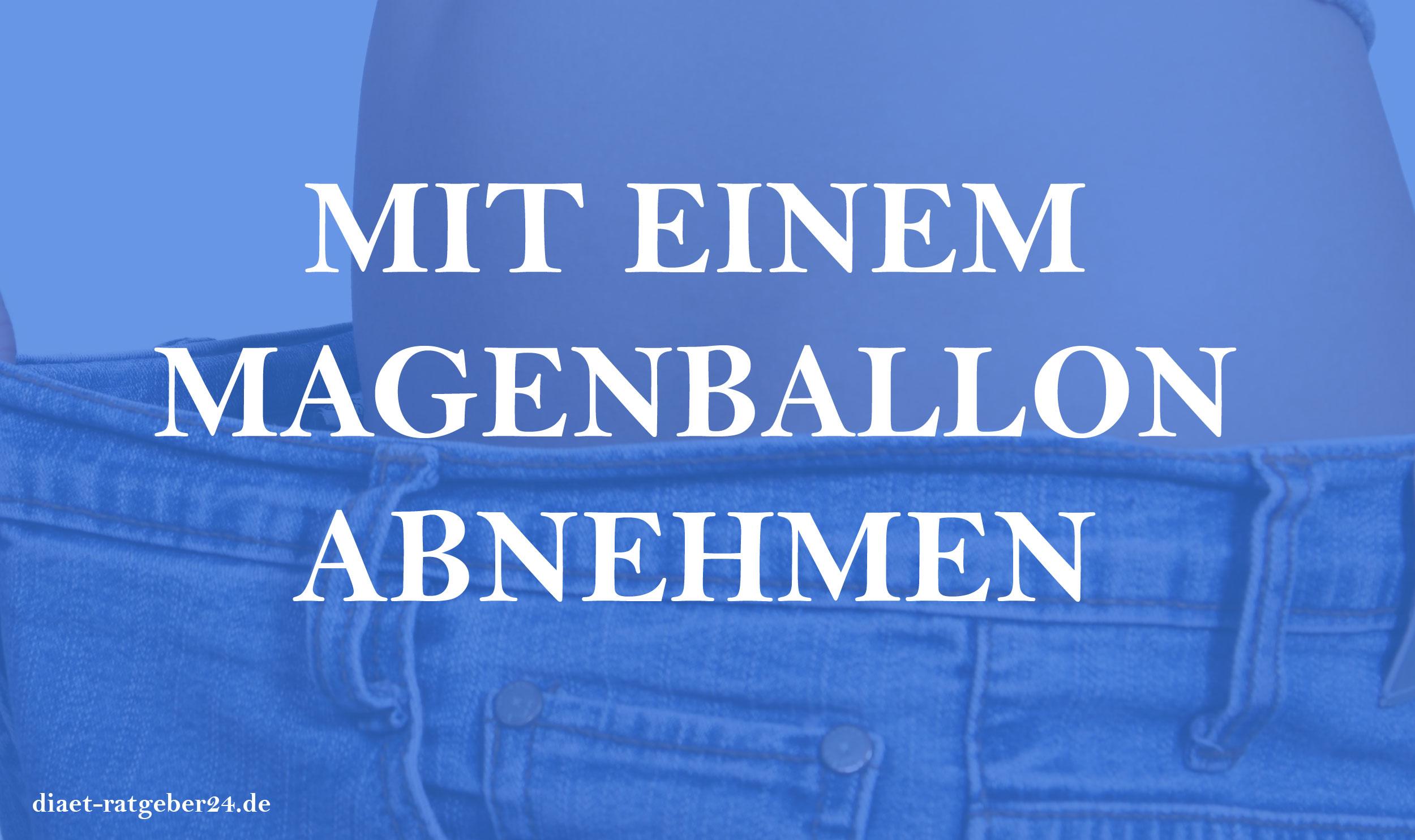 Magenballon zum Abnehmen