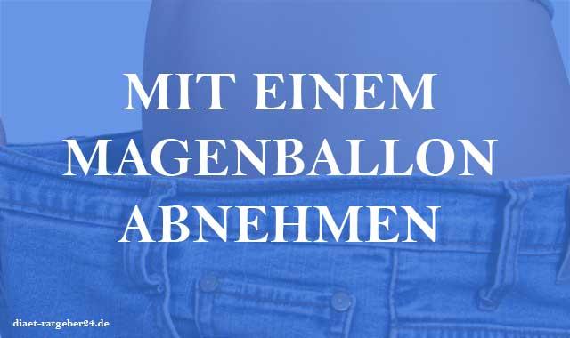 Mit einem Magenballon abnehmen - Ratgeber