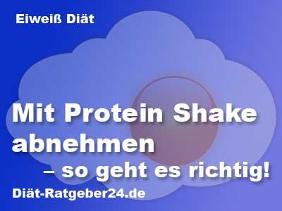 Mit Protein Shake abnehmen - so geht es richtig!