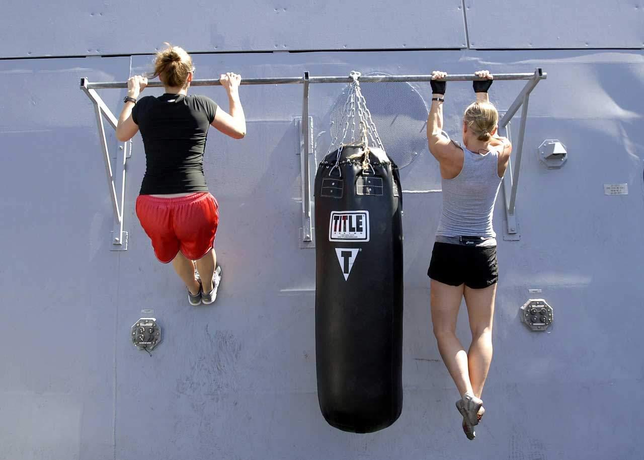 Muskelaufbau zum abnehmen ist sinnvoll.