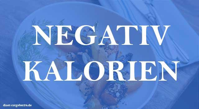 Negativ Kalorien Ratgeber