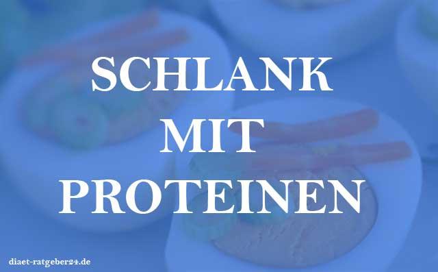 Schlank mit Proteinen Ratgeber