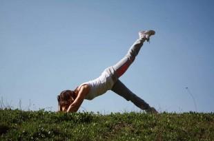 Schnell abnehmen am Bauch