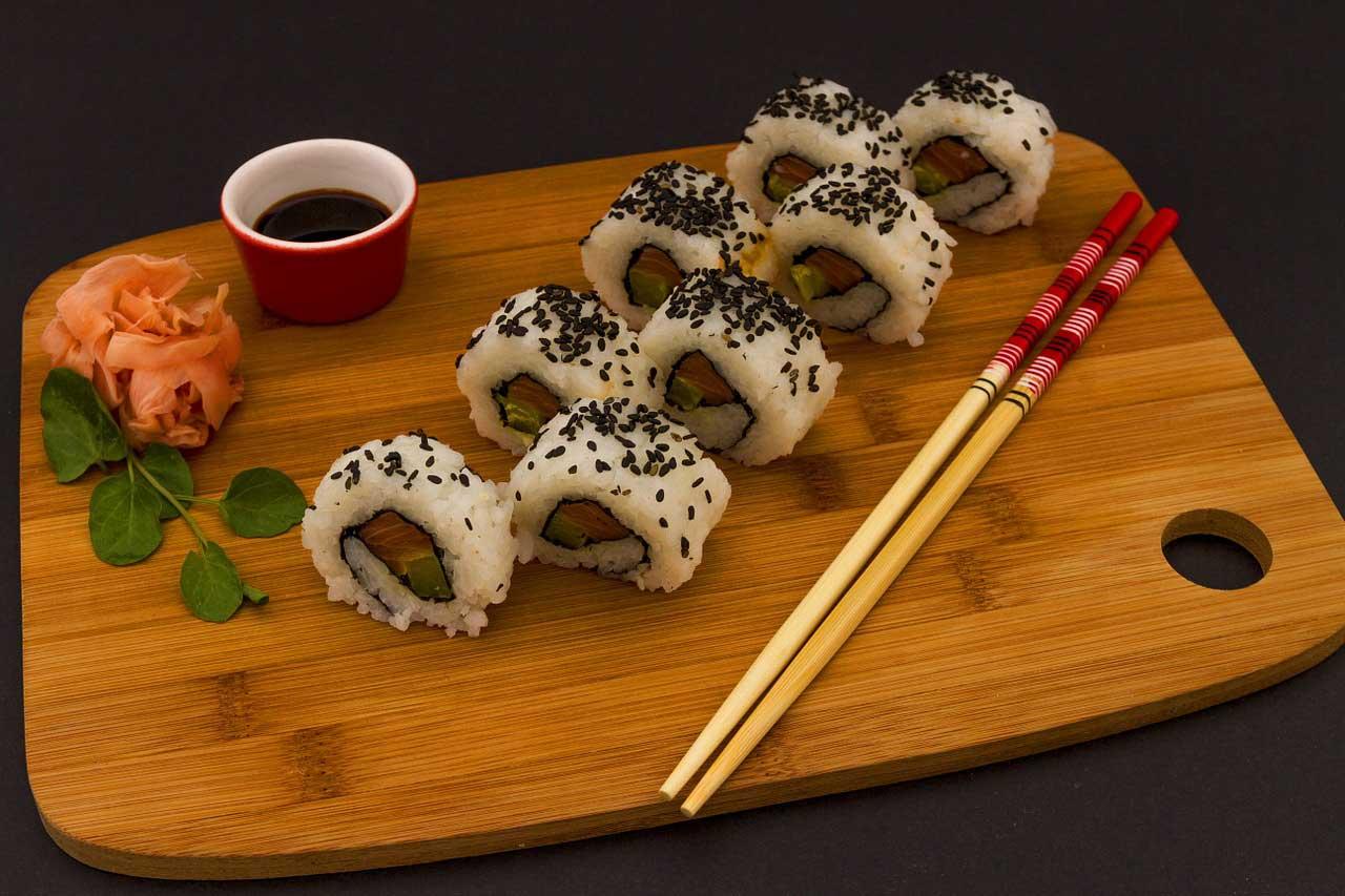 Wie viele Kalorien hat Sushi?