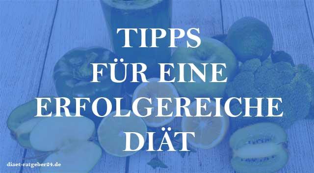 Tipps für eine erfolgreiche Diät - Ratgeber