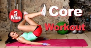 5 effektive Übungen für den  Bauch