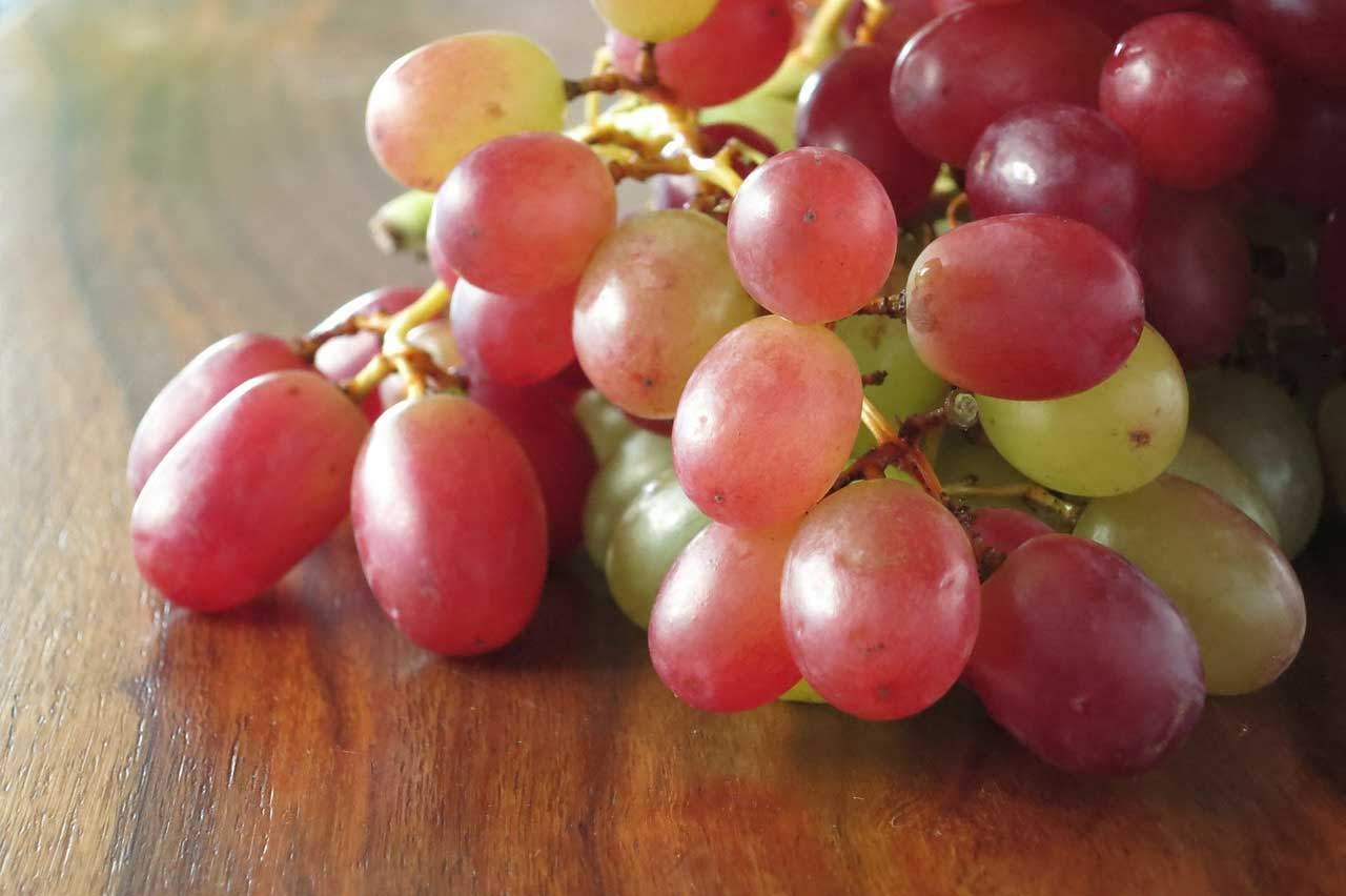 Mit Hilfe von Weintrauben abnehmen?
